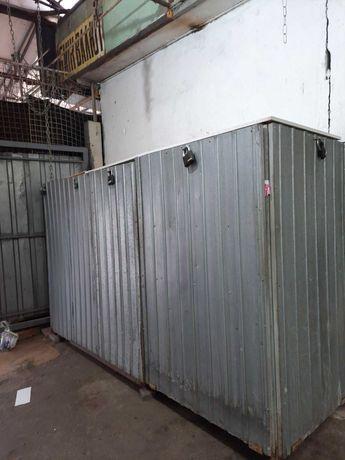 Шкаф - контейнер металлический