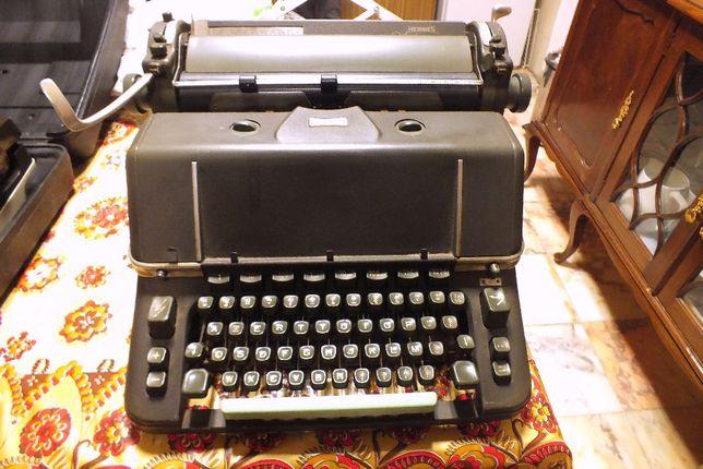 Máquina de Escrever Antiga .:. HERMES AMBASSADOR