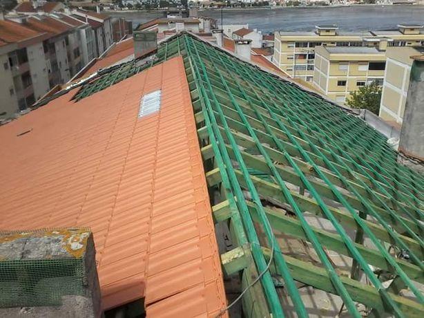 Telhados em Madeira!