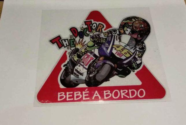 Autocolantes Valentino Rossi - Portes grátis