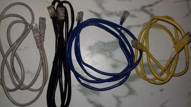Сетевой кабель для интернета патчкорд витая пара RJ-45