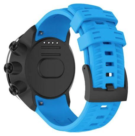 Nowy pasek silikon do Suunto 9 / 9 BARO / Spartan Wrist HR NIEBIESKI