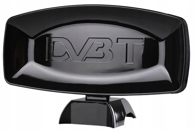 MOCNA Antena DVBT pokojowa + wzmacniacz + kabel