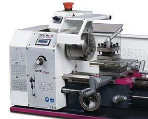 Torno mecânico OPTIMUM TU2004V 230V Diam. torneável: 200 mm