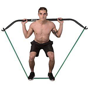 Przenośna siłownia domowa ŁUK Oporowy Fitness Kulturystyka Shinyever B