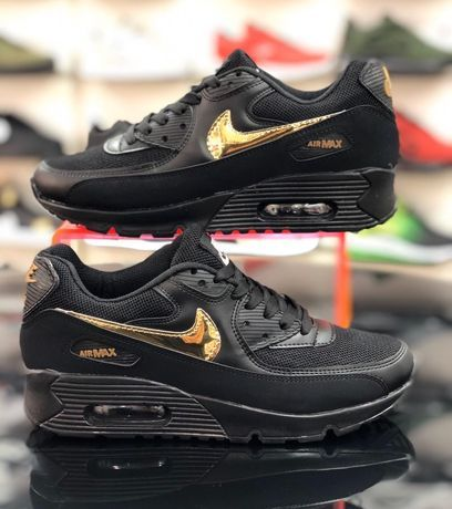Nike air max 90. Roz. 36,37,38,39,40. ZOBACZ. Białe, Czarne, Złote HIT