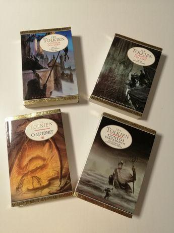 Livros senhor dos anéis edições tolken de 2002