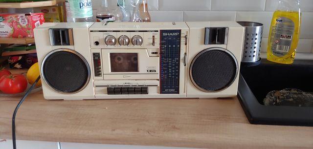 Radio, sharp, antyk
