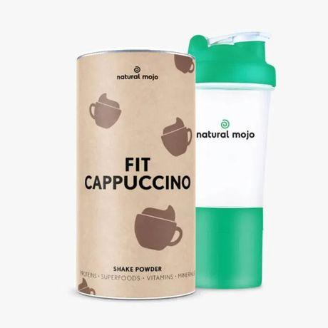 NATURAL MOJO FIT SHAKE-Zestaw Fit Cappuccino+ shaker