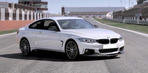 BMW 4 F32 PERFORMANCE Style Dokładka zderzaka przód
