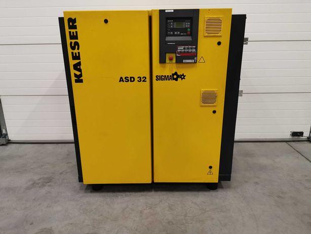 6910h! Sprężarka śrubowa 18.5kw KAESER ASD32 kompresor 3000l/mi 11 bar