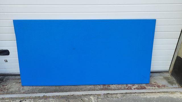 Мат татами синий, низ антислип серый 2000х1000х40 мм