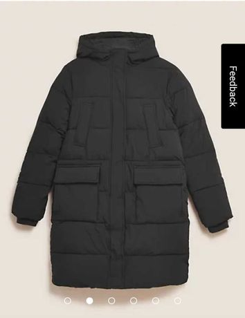 Зимнее пальто, пуховик женский, большой размер, батал Marks&Spencer