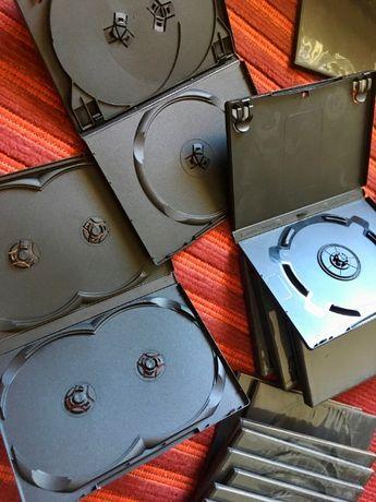 Caixas de DVD, CD, duplas, triplas e quadruplas