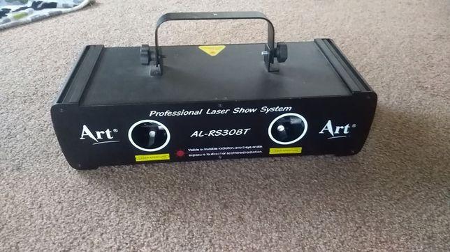 ART LASER - Laser AL-RS308T - 2 kolory DMX laser dj oświetlenie