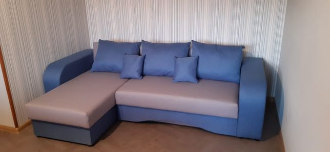 NEW!!! Угловой диван Blue . Диван предназначен для ежедневного сна.