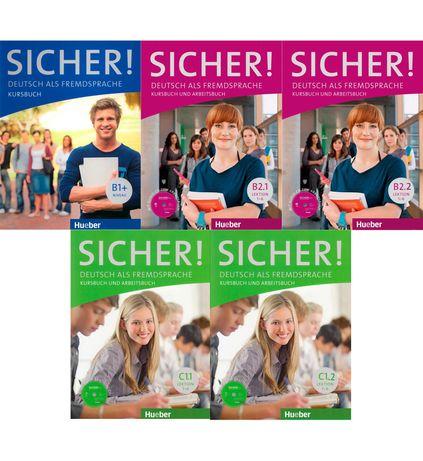 Sicher B1+, B2.1, B2.2, C1.1, C1.2 PDF
