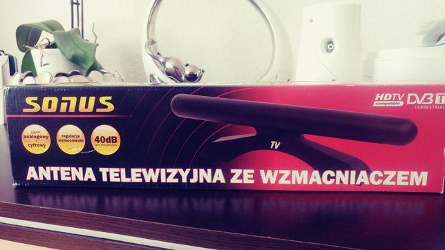 Antena telewizyjna ze wzmacniaczem SONUS TV.