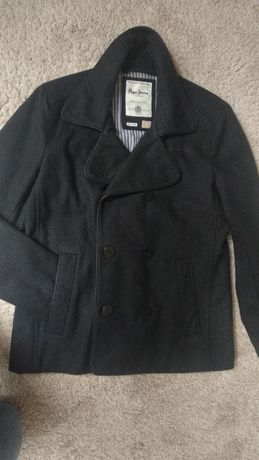 Welniany płasz / elegancka kurtka
