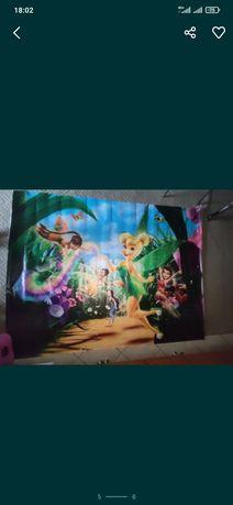 Баннер плакат макет Фея Динь-Динь фотозона