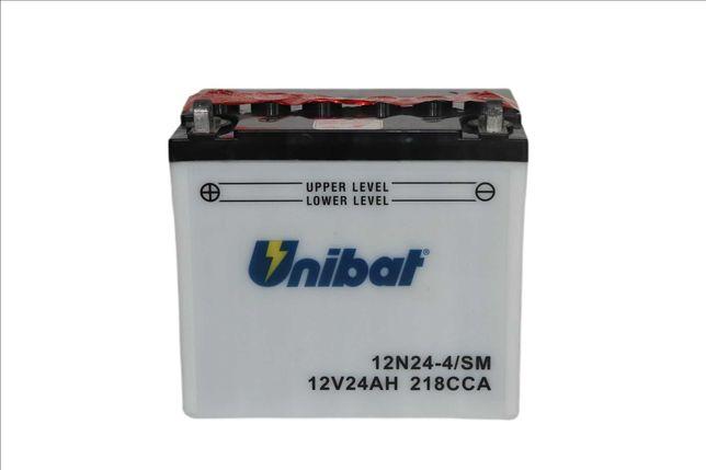 Akumulator Unibat 12N24-4/SM Traktorek - kosiarka