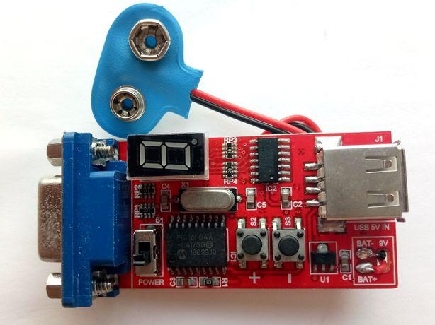 Портативний генератор VGA сигналів для тесту моніторів