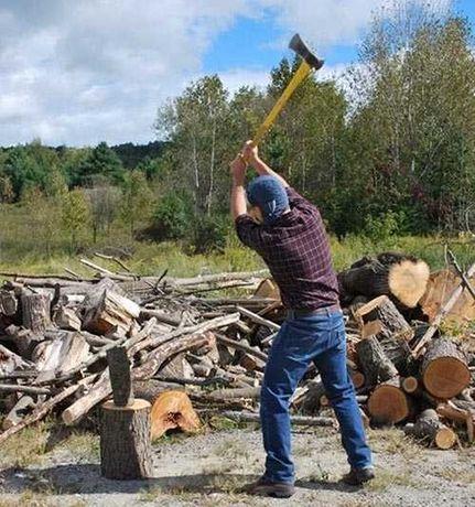 Рубання,пиляння дров