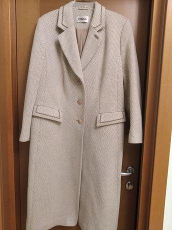 Пальто теплое, 54 р.
