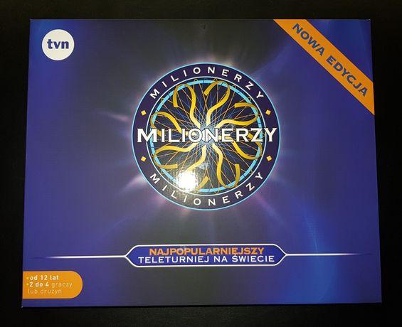 Milionerzy gra planszowa - Nowa edycja - promocja