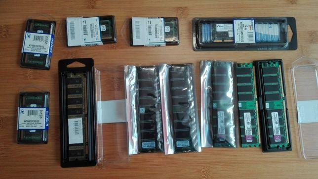 Mémorias RAM para Desktop e Portátil