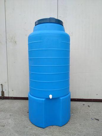 Zbiornik na wodę pitną, niebieski lub biały 300 l - hurt-detal