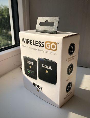 Продам микрофон RODE Wireless GO Black