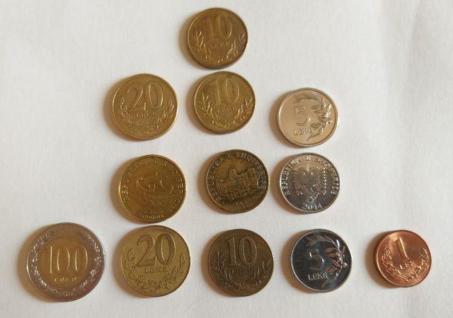 Набор монет Албания