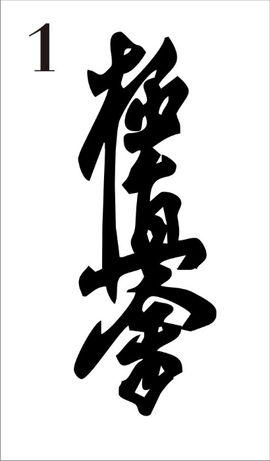 Pióro, kyokushin, łapacz snów naklejka na ścianę 130 cm x 48 cm
