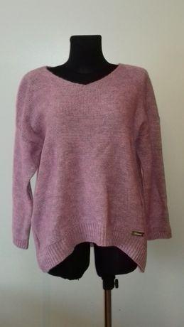 Sweter damski różowy, nowy, rozmiar uniwersalny, hit cenowy, najtaniej
