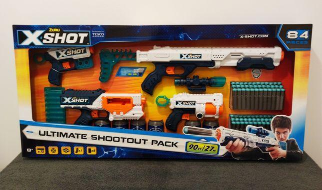 Zuru X Shot Ultimate Shootout Pack Mega Zestaw Pistoletów typu Nerf