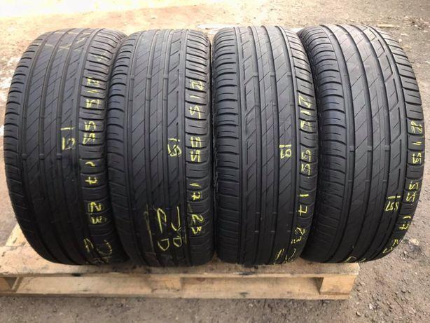 Літні шини 215/55 R17 Bridgestone Turanza t001 4ШТ/5+mm/2019рік