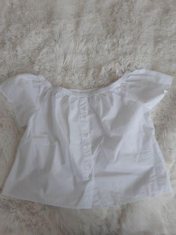 Nowa Bluzeczka hiszpanka bluzka biała r.36