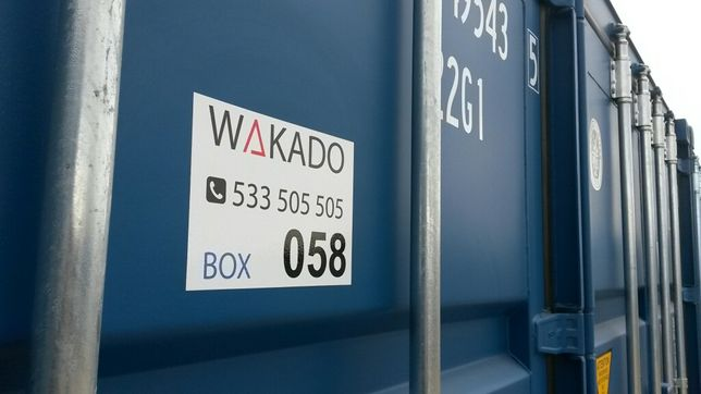 Magazyn samoobsługowy kontener 15m2/450zł netto wynajmę