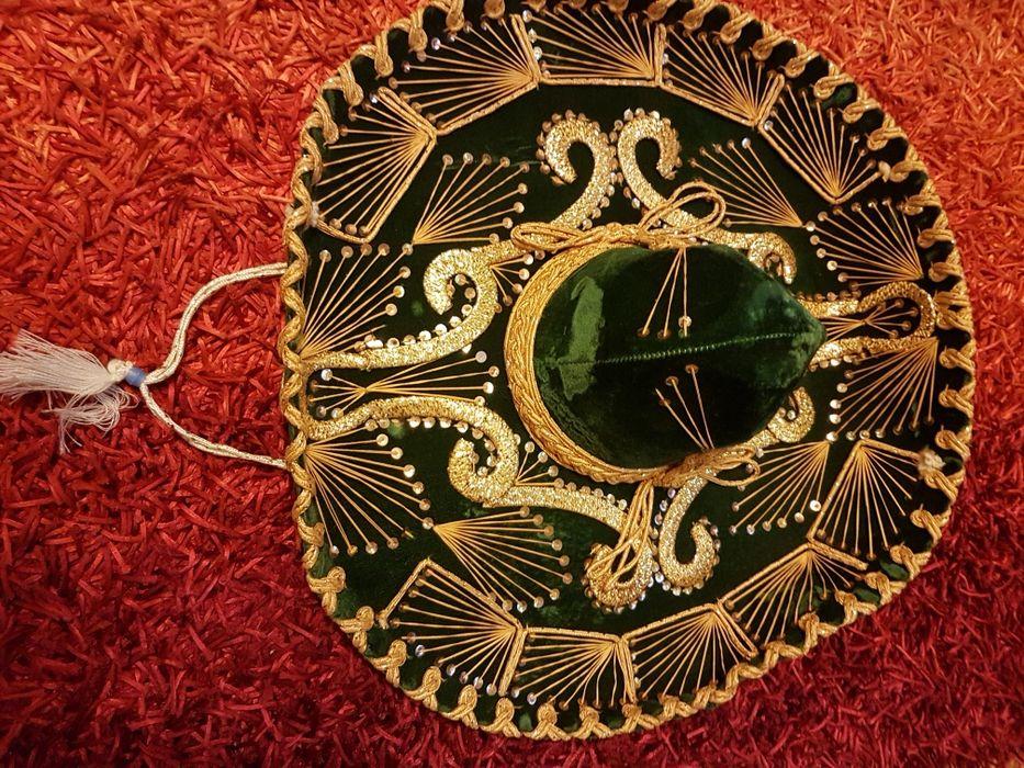 Sombrero Mexico Paris 1900 roma 1898 Brześć Kujawski - image 1