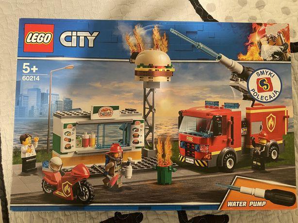 LEGO CITY Straż Pożarna 60214 Płonący Bar - NOWOŚĆ