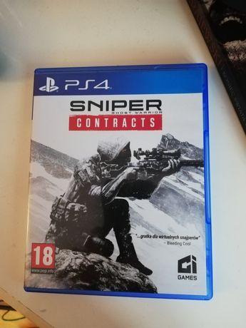 Gra Sniper  contracts nie elita zamiana ps4 wymiana