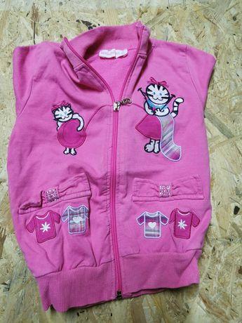 Bluzeczka różowa