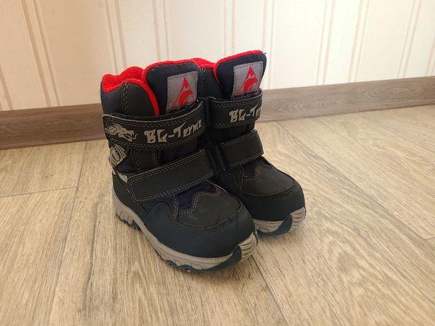 Зимние ботинки b&g термо 24 размер,15.5см