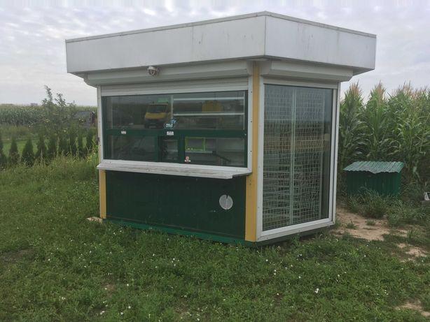 Kiosk kontener biuro stróżówka pawilon socjalny komis handlowy barak