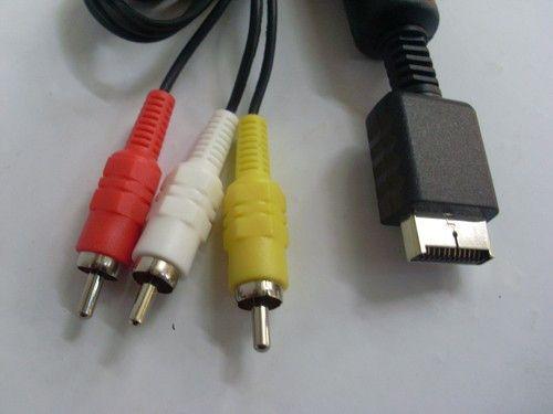 AV кабель для Sony Playstation 1,AV Cable PS1/PS2/PS3 оригинал!