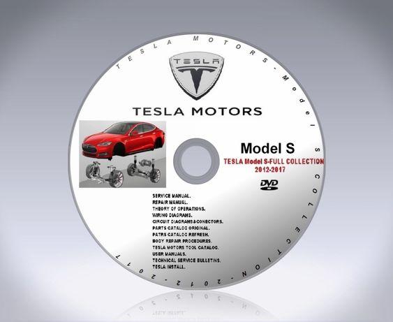 Service manual Tesla model S инструкция, разборка, детали, схемы