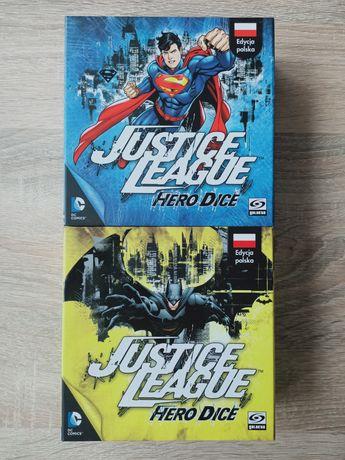 Justice league Hero Dice. Superman i Batman