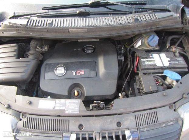 Motor Seat Alhambra Cordoba Ibiza Toledo Leon 1.9Tdi 115cv AUY AJM BVK Caixa de Velocidades Arranque
