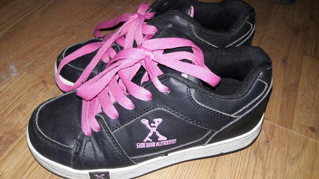 Heelys кросівки - ролики двохрядні 33р.20см.( кроссовки с роликами)